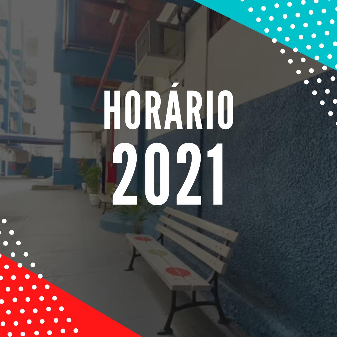 HORÁRIO 2021